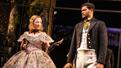 Annie McNamara as Alana and Sullivan Jones as Phillip in Slave Play.