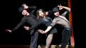 Bianca Marroquin and the cast of Chicago.