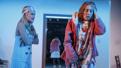 Stephanie Styles as Suz and Crystal Finn as Layne in Kingdom Come.