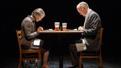 Annette O'Toole as Nancy and Reed Birney as Ken in Man From Nebraska.