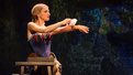 Annaleigh Ashford as Dot in Sunday in the Park with George.