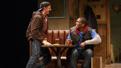 Will Pullen as Jason and Khris Davis as Chris in Sweat.