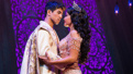Telly Leung as Aladdin and Courtney Reed as Jasmine in Aladdin