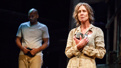 Brandon Victor Dixon as Monster and Christine Lahti as Hester Smith in F**king A.