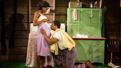 Nneka Okafor as Sally-Mae Carter and Hampton Fluker as Tony Carter in Too Heavy For Your Pocket.