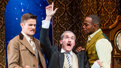 Mark Evans, Harrison Unger and Clifton Duncan in The Play That Goes Wrong.