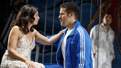Sandra Delgado as Jocasta and Joel Perez as Creon in Oedipus El Rey.