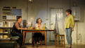 Ron Cook as Robin, Francesca Annis as Rose and Deborah Findlay as Hazel in The Children.