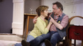 Deborah Findlay as Hazel and Ron Cook as Robin in The Children.