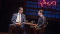 Nick Cordero as Sonny and Adam Kaplan as Calogero in A Bronx Tale.