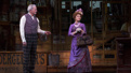 Victor Garber as Horace Vandergelder and Bernadette Peters as Dolly Levi in Hello, Dolly!.