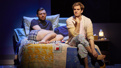 James McArdle as Louis Ironson and Andrew Garfield as Prior Walter in Angels in America.