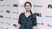 Public Theater alum Shaina Taub steps out in honor of the company.