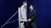 Jake Heston Miller as Gustave & Bronson Norris Murphy as The Phantom in the national tour of Love Never Dies.