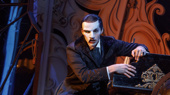 Bronson Norris Murphy as The Phantom in the national tour of Love Never Dies.