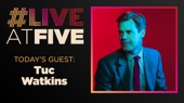 Broadway.com #LiveatFive with Tuc Watkins of The Boys in the Band