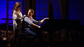 Samantha Barks as Vivian Ward and Andy Karl as Edward Lewis in Pretty Woman: The Musical.