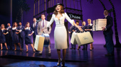 Samatha Barks as Vivian and the cast of Pretty Woman: The Musical