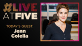 Broadway.com #LiveatFive with Jenn Colella of Come From Away