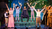 The national touring company of Finding Neverland, photo by Jeremy Daniel
