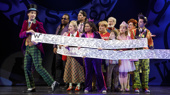 The cast of the national tour of Roald Dahl's Charlie and the Chocolate Factory