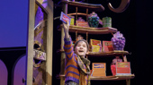 Henry Boshart as Charlie Bucket in the national tour of Roald Dahl's Charlie and the Chocolate Factory