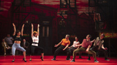 The touring company of A Bronx Tale, photo by Joan Marcus