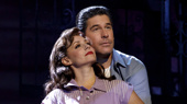 Michelle Aravena (Rosina) & Richard  H. Blake (Lorenzo) in the national tour of A Bronx Tale, photo by Joan Marcus