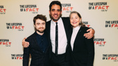 Stars Step Out for Opening Night of The Lifespan of a Fact