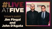 Broadway.com #LiveatFive with Jim Fingal and John D'Agata of The Lifespan of a Fact