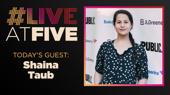 Broadway.com #LiveatFive with Shaina Taub