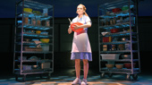 Christine Dwyer as Jenna in Waitress, photo by Tim Trumble