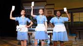 Jessie Shelton, Christine Dwyer and Tatiana Lofton in Waitress, photo by Tim Trumble