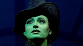 Jackie Burns as Elphaba in Wicked