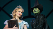 Kara Lindsay as Glinda & Jackie Burns as Elphaba in Wicked