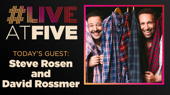 Broadway.com #LiveatFive with Steve Rosen and David Rossmer of The Other Josh Cohen