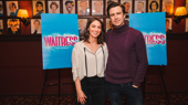 Sara Bareilles & Gavin Creel Get Ready to Start Their Shift in Waitress on Broadway