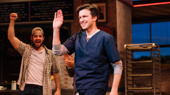 See Gavin Creel & Sara Bareilles Take Their First Bow Together in Broadway's Waitress