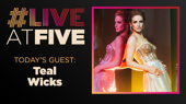 Broadway.com #LiveatFive with Teal Wicks of The Cher Show
