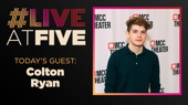 Broadway.com #LiveatFive with Colton Ryan of Alice By Heart