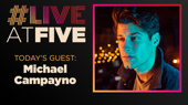 Broadway.com #LiveatFive with Michael Campayno of The Cher Show