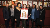 Dear Evan Hansen's Jennifer Laura Thompson Receives a Sardi's Portrait