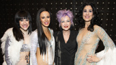 Cyndi Lauper Sparkles and Shines at The Cher Show