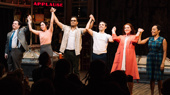 It's a Hit! Merrily We Roll Along Celebrates Opening Night Off-Broadway