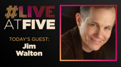 Broadway.com #LiveatFive with Jim Walton of Come From Away