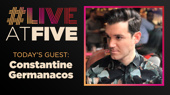 Broadway.com #LiveatFive with Constantine Germanacos of Anastasia