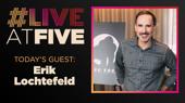 Broadway.com #LiveatFive with Erik Lochtefeld of King Kong