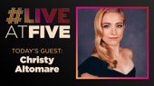 Broadway.com #LiveatFive with Christy Altomare of Anastasia