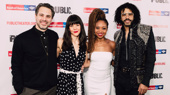 White Noise cast members Thomas Sadoski, Zoë Winters, Sheria Irving and Daveed Diggs get together.
