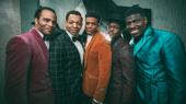 Ain't Too Proud stars James Harkness, Derrick Baskin, Jeremy Pope, Ephraim Sykes and Jawan M. Jackson.